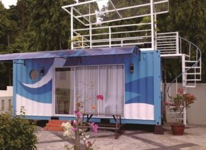 Jual Container Bekas Cafe