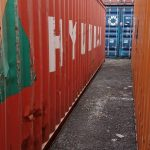 tempat jual beli container bekas surabaya - Container 40ft Dry CW
