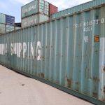 tempat jual container bekas - Container 40ft Dry CW
